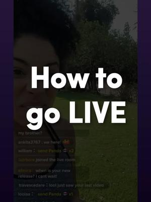Check out our new tutorial on going LIVE! of tiktok