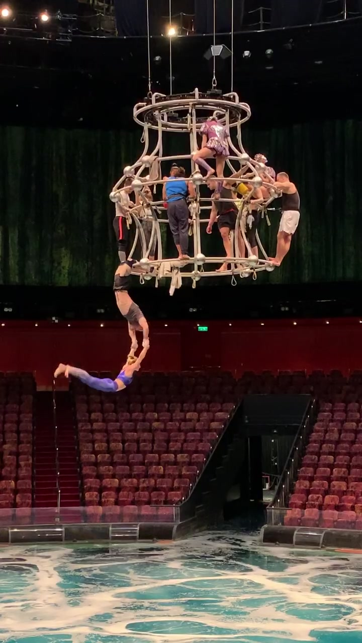 Chandelier Training! Tag someone you trust to catch you! ❤️ #circus #foryou #foryoupage #acrobatics #imanexpert #flip