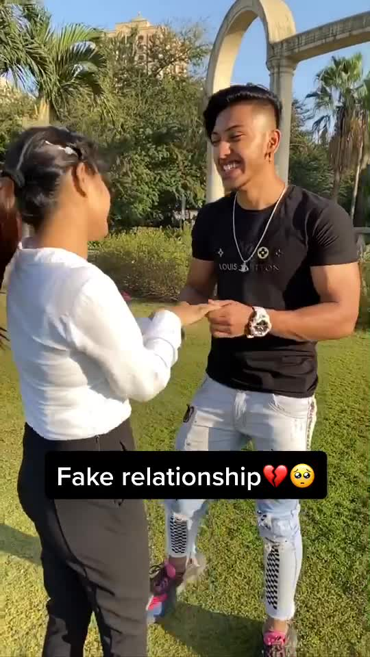 Kya Fake relationship aise hote hai?💔💔Comment (YES) if u agree👍 #foryou #fyp #dgang TikTok