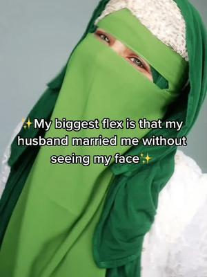 I think I won this challenge! ♥️ #muslimcouple #biggestflex #muslimtiktok #learnfromus #religion #learnontiktok #wedding #inlove #truelove