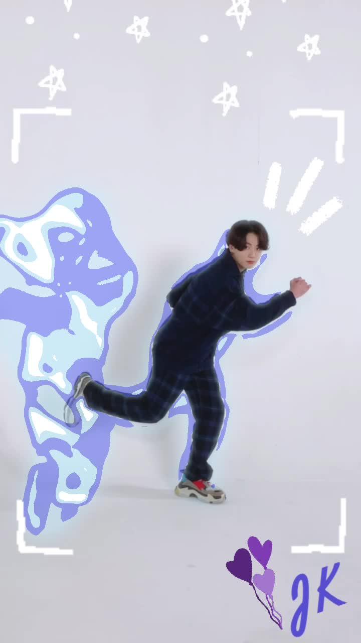 순간이동! 🐰#BTS #방탄소년단 Dance 'Dynamite' with Jung Kook #Dance_Dynamite #BTS_Dynamite tiktok