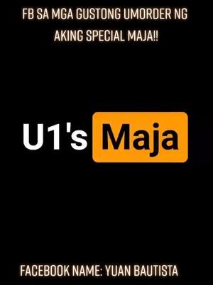 """""""Mapapaungol ka sa Sarap!!"""" Just message me on FB kung sino gusto umorder ng aking Special Maja Blanca minimum of 2 tubs per order!!"""