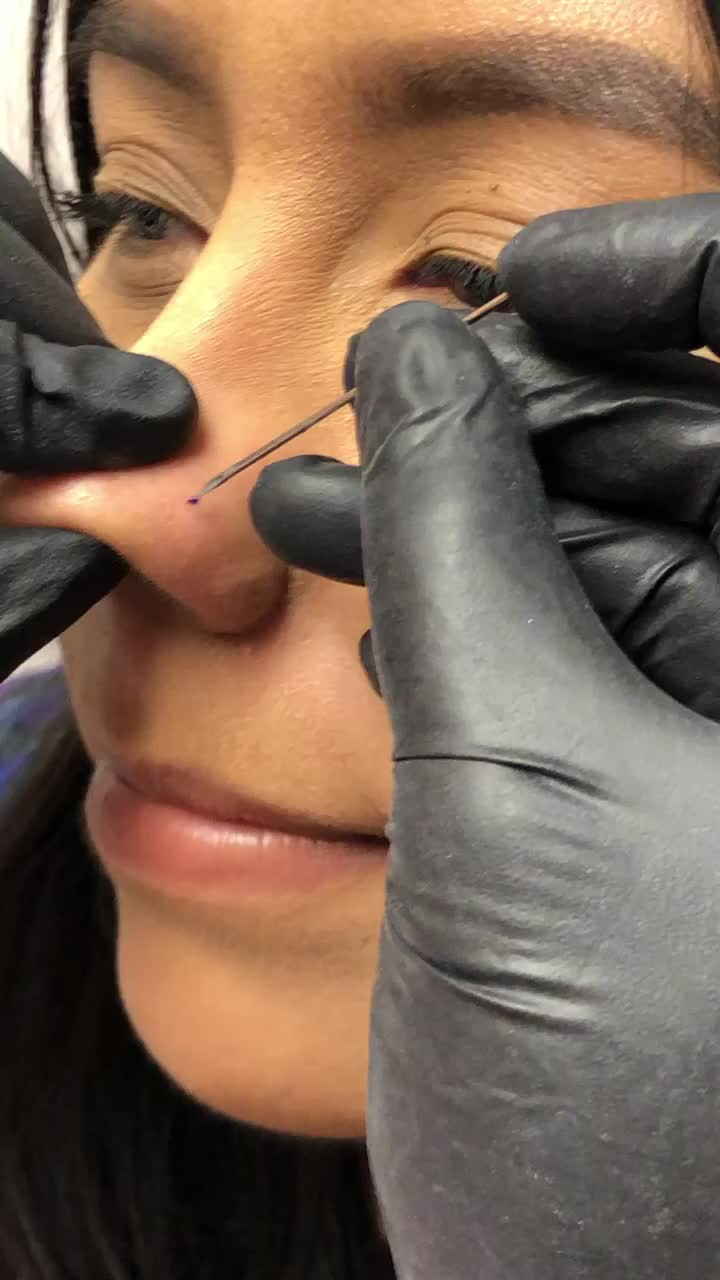 Nose piercing !! Do you have one ? If so what side ? #piercings #nosepiercin #tiktokpiercings #bodymods #smallbusinesscheck #TodayILearned of ami g ami g viral video tiktok