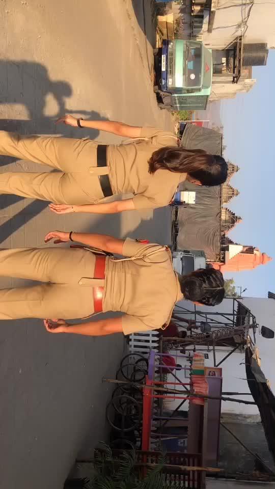 Miss making tiktoks with my bacchu @bhavikasharma123 #foryou #trending #fyp #tiktok #coactors #maddamsir #copsoftiktok tiktok