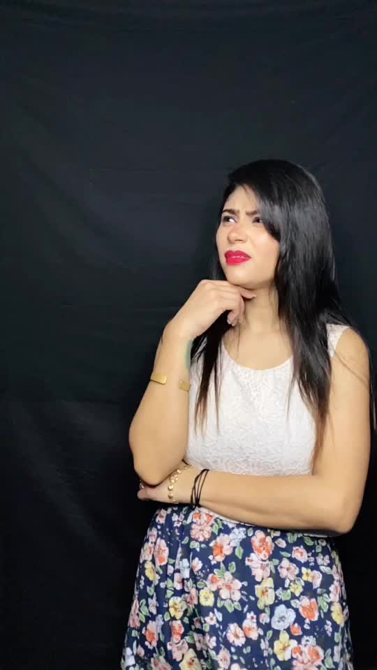 don't judge my new look i will change it soon 🤪❤️#shubhsmriti #fyp #foryou #teamly_ @rajputsmriti12 TikTok
