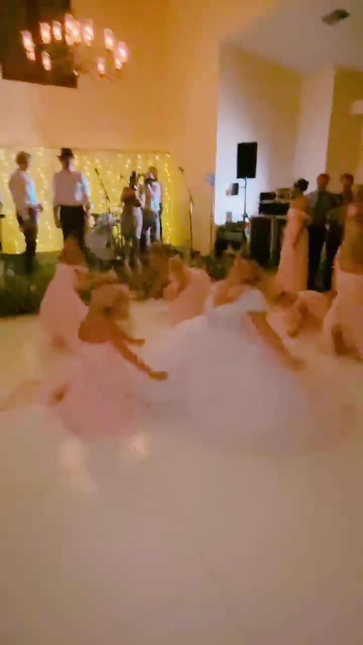 lmao i almost forgot, my bridesmaids & i surprised everyone with WAP at my wedding 😂 #Wedding #WAP #surprise #flashmob of tiktok actress