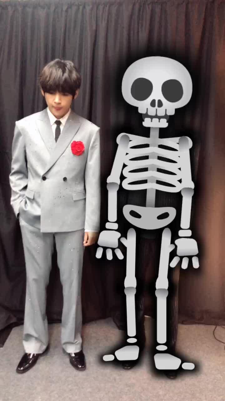 💀HAPPY HALLOWEEN🎃#Halloween #할로윈 #좀비할로윈#BTS #JIMIN #지민 #V #뷔