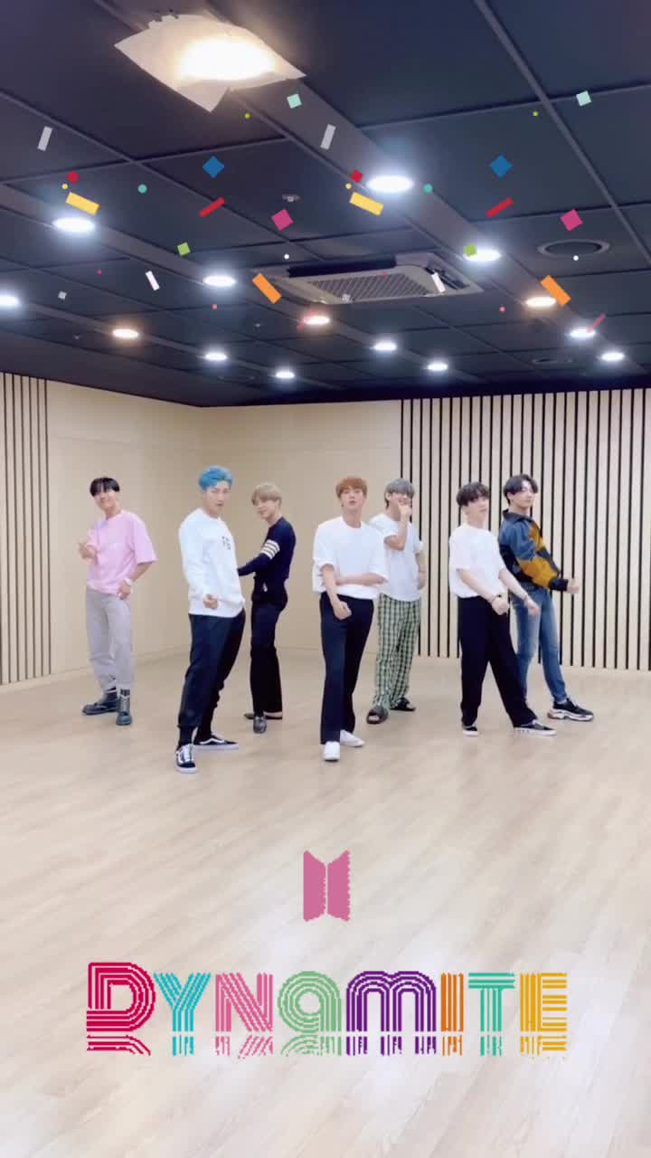 #BTS #방탄소년단 🕺Dance 'Dynamite' with me #Dance_Dynamite #BTS_Dynamite tiktok