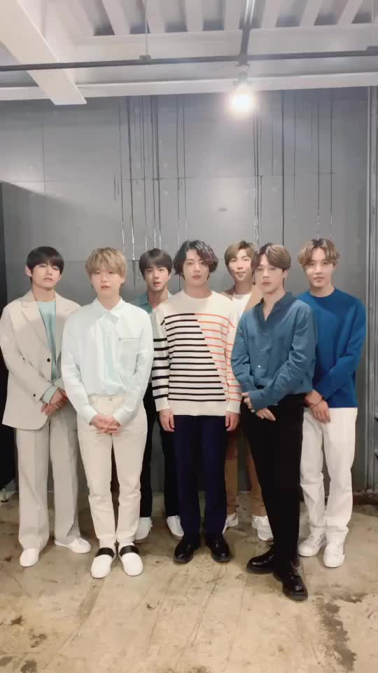 hello, We are BTS!#BTS #방탄소년단 틱톡 오픈💜 of tik tok trends 2019 songs