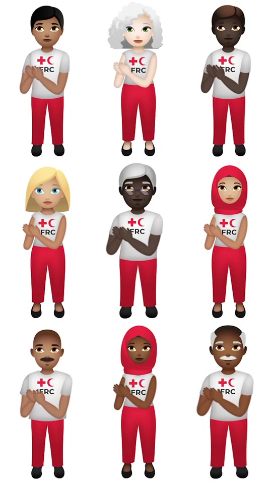Let's #KeepClapping 👏 8 May is World #RedCross #RedCrescent Day! We 👏 for volunteers, staff & everyone helping stop #COVID19 #clapforourcarers tiktok