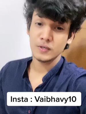 Bhot yaad ayegi aap logo ki guys isliye jaldi we Instagram or ajao sab 🥺❤️ (Instagram : Vaibhavy10) #vaib #vaibhavyadav TikTok
