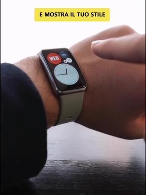 Rinnova ogni giorno il tuo stile con #HuaweiWatchFIT 🌟🌈 #ImparaconTikTok #Watch #Colors