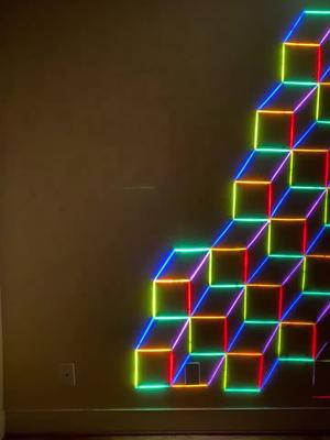 This was cool #college #wall #light TikTok