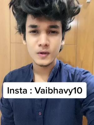 Follow me on Instagram : Vaibhavy10  ❤️ Jaldi se jake follow kro guys ❤️#vaib #vaibhavyadav TikTok