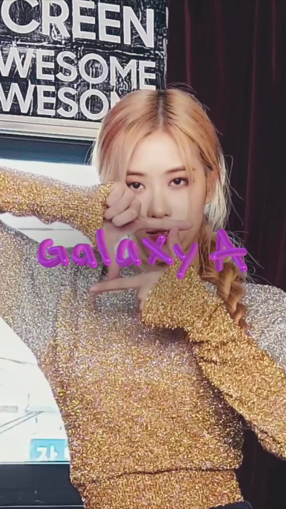 BLACKPINK in your area! Join the Galaxy A #danceAwesome challenge  tiktok