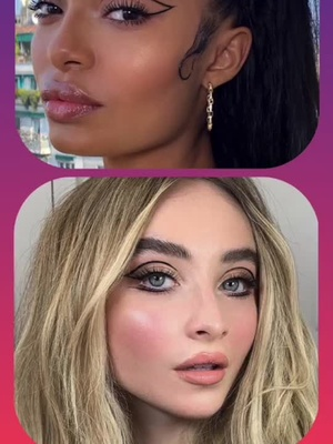 Who's your fav makeup artist?🤔😸💖#makeup#talent#art#beautiful#fyp#fy#foryou#foryoupage#thisvsthat#thisvstht#thisorthat#duet#duetme#duetthisvideo
