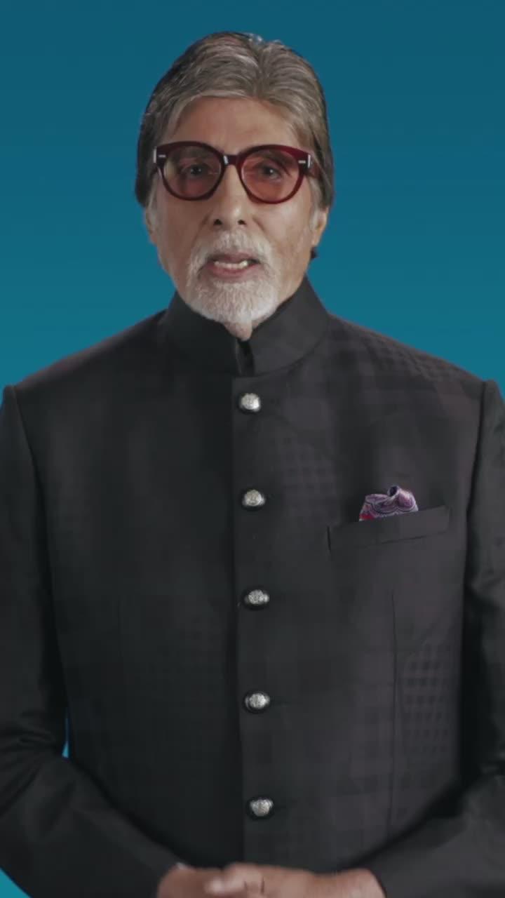 आपके लिए अमिताभ बच्चन का एक संदेश। #covid19 #coronavirus #safehands #coronavirusindia #amitabhbachchan tiktok