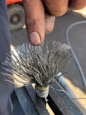 Preparation of broomed wire #fyp #foryoupage #foryou #wire #broom#MoneyTok #2021